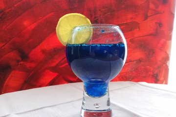 Blue Eyes Cocktail