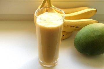 Mango-Bananen Mix