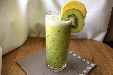 Kiwi-Zitronen Drink