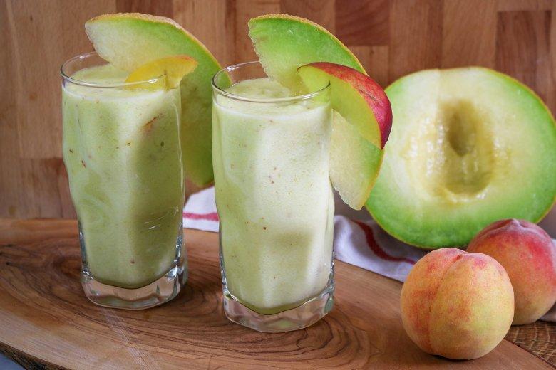 Pfirsich-Melonen Mix