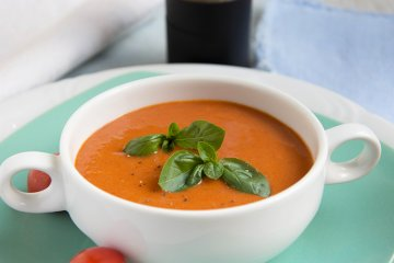 Tomaten-Kartoffel-Suppe