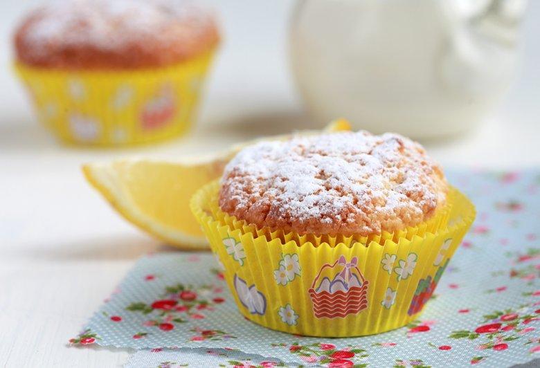 Leckere Kokos-Zitronen-Muffins