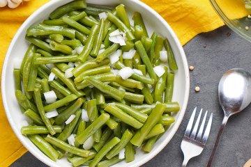 Grüner Bohnen-Salat
