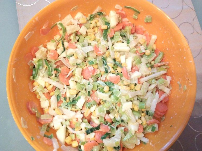 Porree Salat