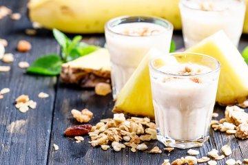 Veganer Frühstücks-Smoothie