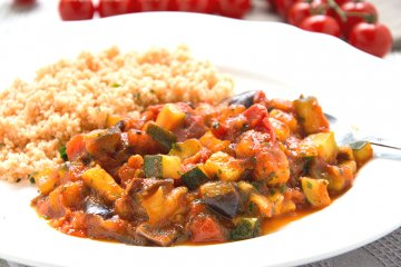 Ratatouille mit Couscous
