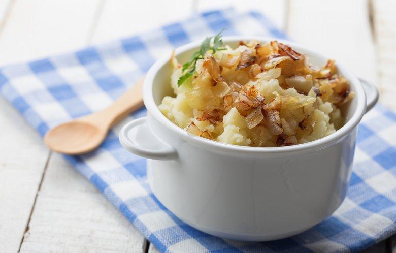 Schwäbischer Kartoffelbrei
