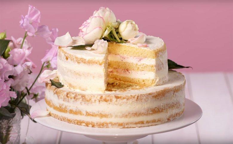Naked Cake Hochzeitstorte Rezept Gutekueche De