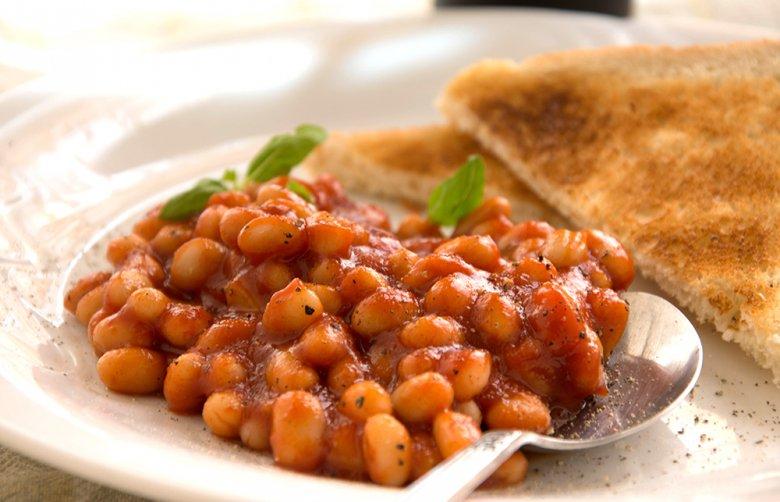 Gebackene Chili-Bohnen