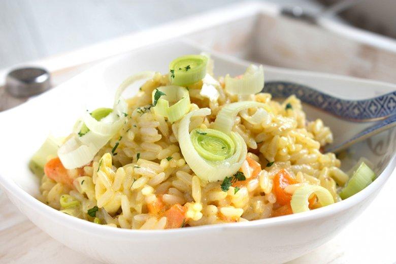 Gemüse-Reispfanne