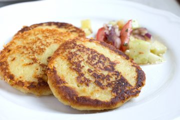Kernige Kartoffelpuffer