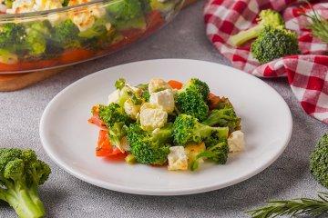 Brokkoli-Feta-Auflauf