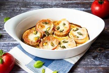 Tomaten-Brot-Auflauf