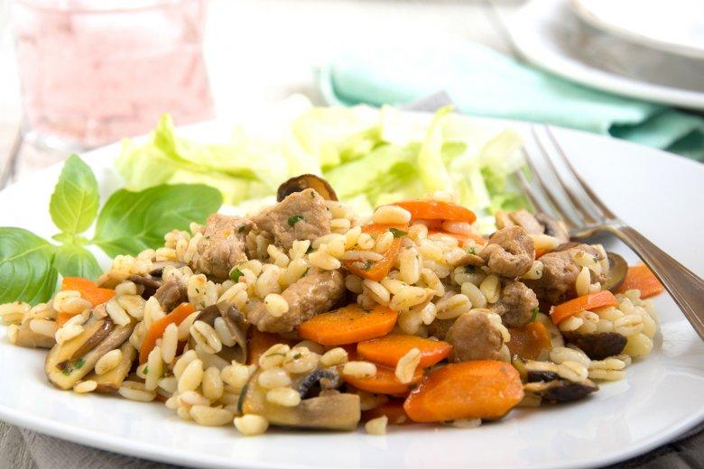 Karotten-Pilz-Pfanne
