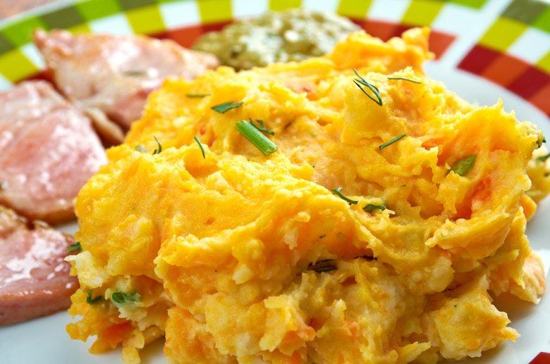 Kartoffel-Karotten-Püree