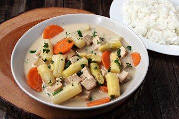 Veganes Tofu-Frikassee