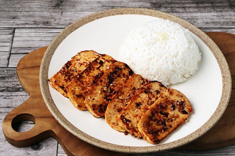 Gebackener Chili-Sesam-Tofu