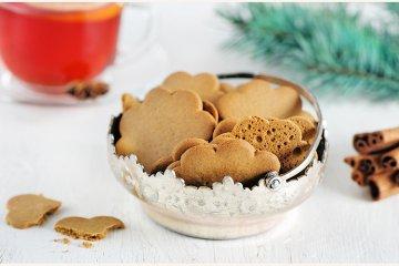 Weihnachtliche Zimt-Kekse