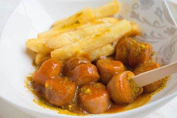 Vegane Currywurst