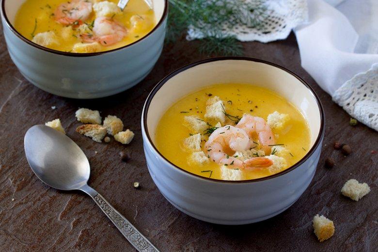 Herbstliche Karotten-Kürbis-Suppe