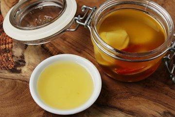 Ingwer-Limetten-Öl mit Chili