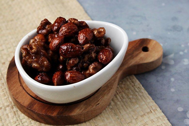 Kandierte Nüsse