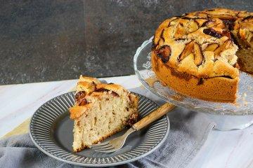 Pflaumenkuchen mit Karamell
