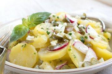 Leichter Radieschen-Kartoffel-Salat