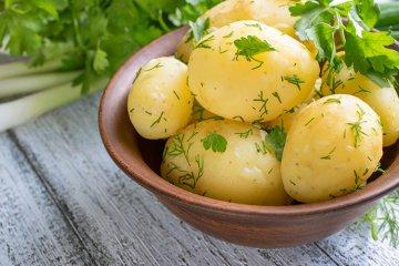Petersilkartoffeln