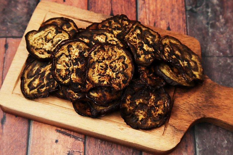 Auberginen-Chips