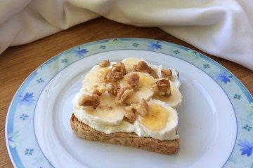 Schnelles Bananen-Brot