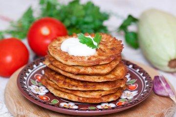 Fritelle di Zucca - Kürbis Pfannkuchen