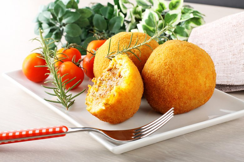 Arancini - Reisbällchen