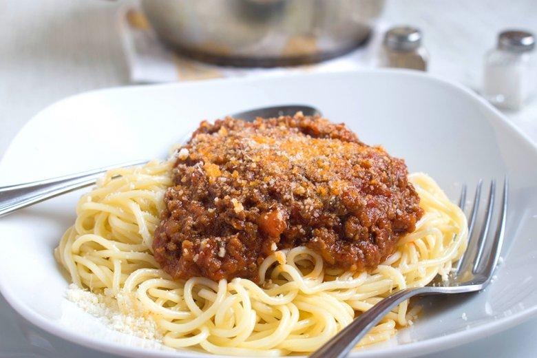 Mamas Spaghetti Bolognese