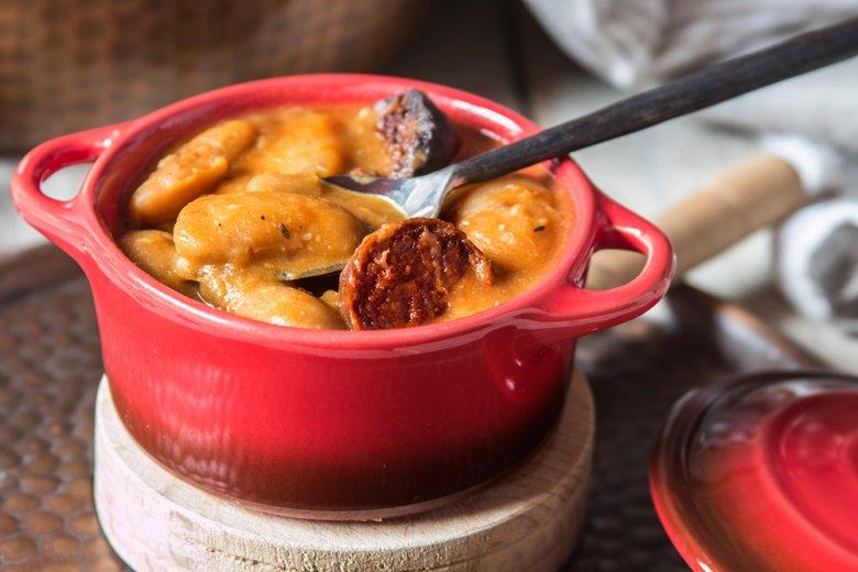 Fabada - Spanischer Bohneneintopf