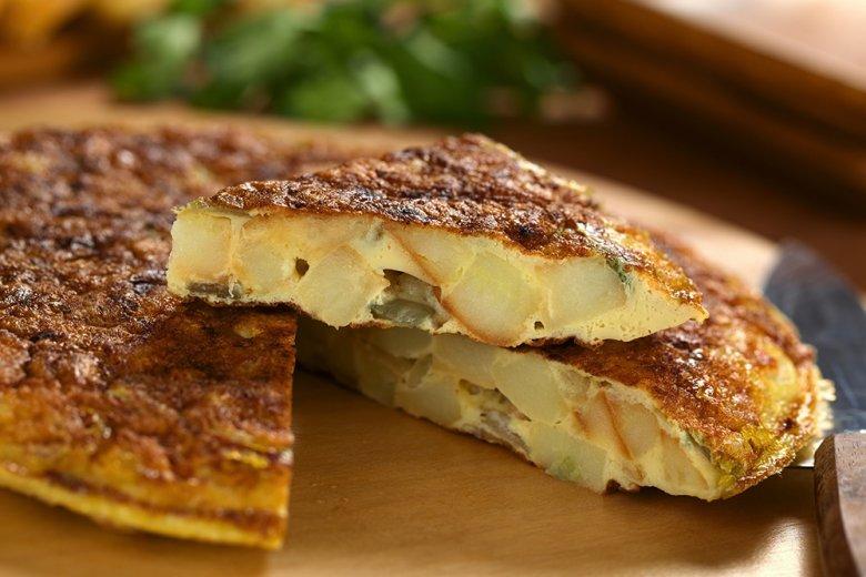 Tortilla de Patata - Spanisches Kartoffelomelette