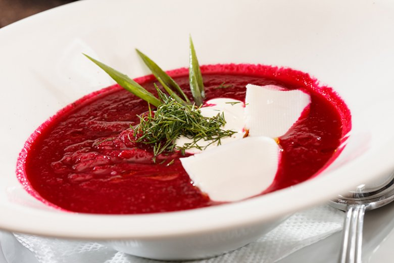 Rote-Bete Suppe