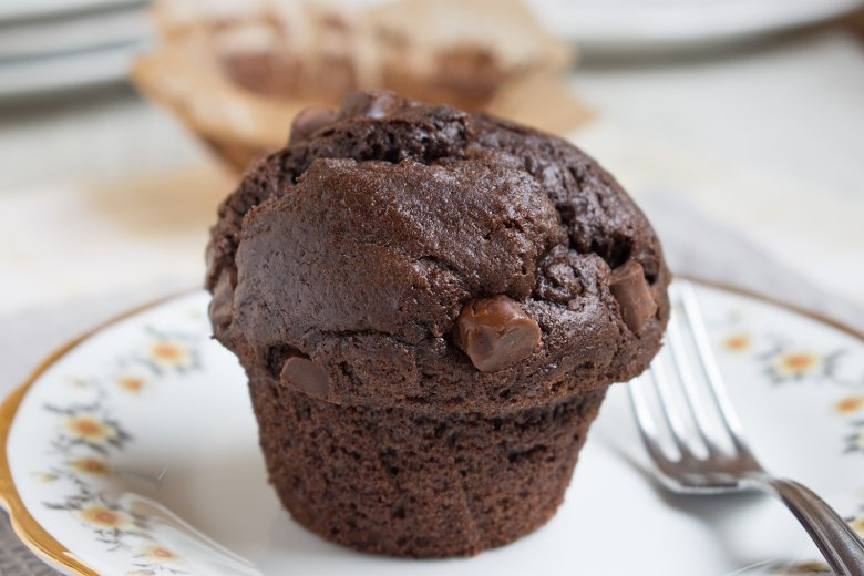 Schokoladen-Joghurt-Muffins