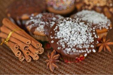 Weihnachts- Muffins