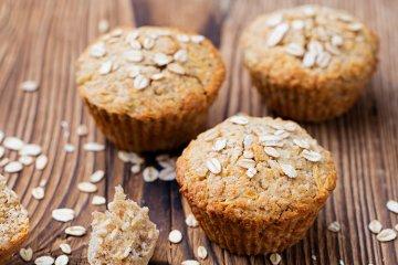Apfel-Hafer-Muffins