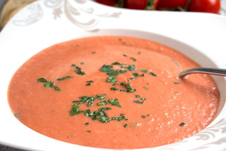 Asiatische Tomatensuppe