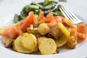 Vegane Gewürz-Bratkartoffeln