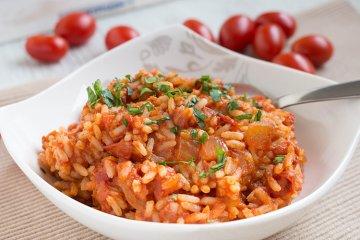 Tomatenreis griechische Art