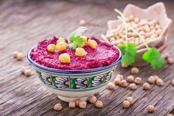 Rote-Beete-Hummus
