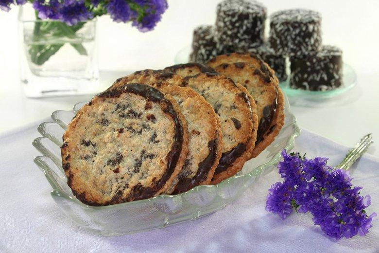 Dänische Haferflocken Kekse