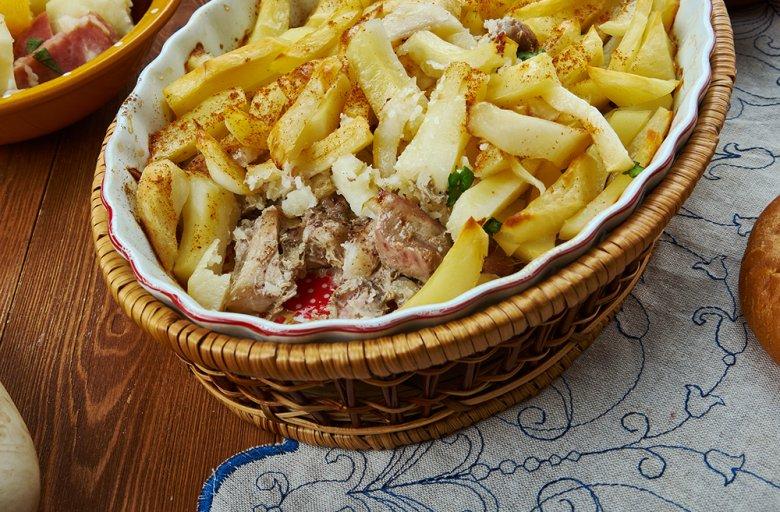 Finnischer Kartoffelgratin