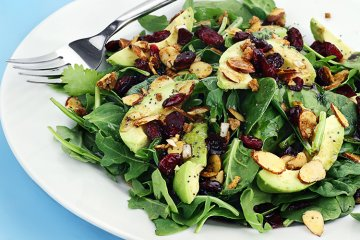 Spinat Avocado Salat