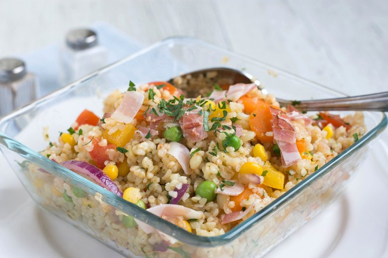 Kunterbunter Quinoa Salat