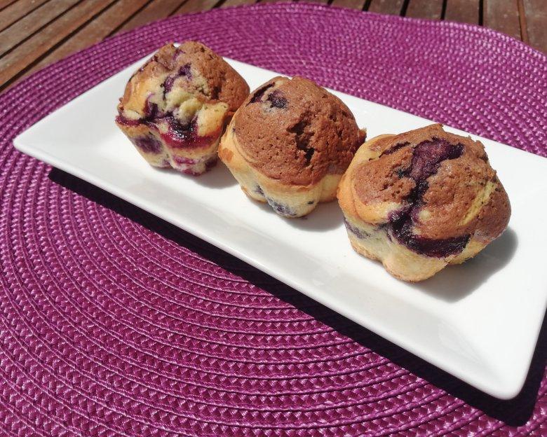 Fruchtige Marmormuffins