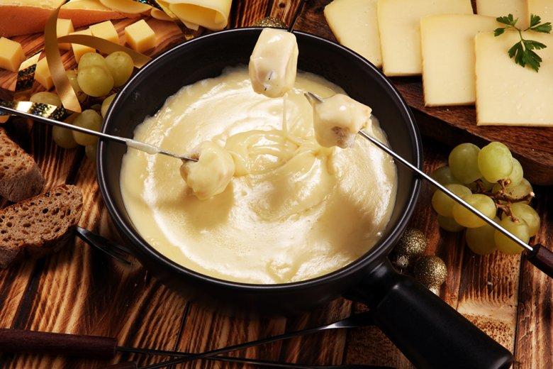 Original Schweizer Käsefondue